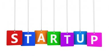 Startup Business Sign