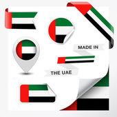 Fotografia Nella raccolta bandiera degli Emirati Arabi Uniti