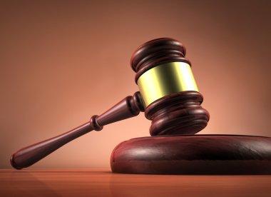 Judge And Justice Gavel Symbol