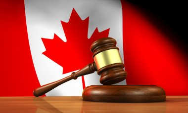 Canadian Law And Justice Concept