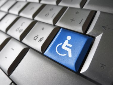 Web Accessibility Computer Key
