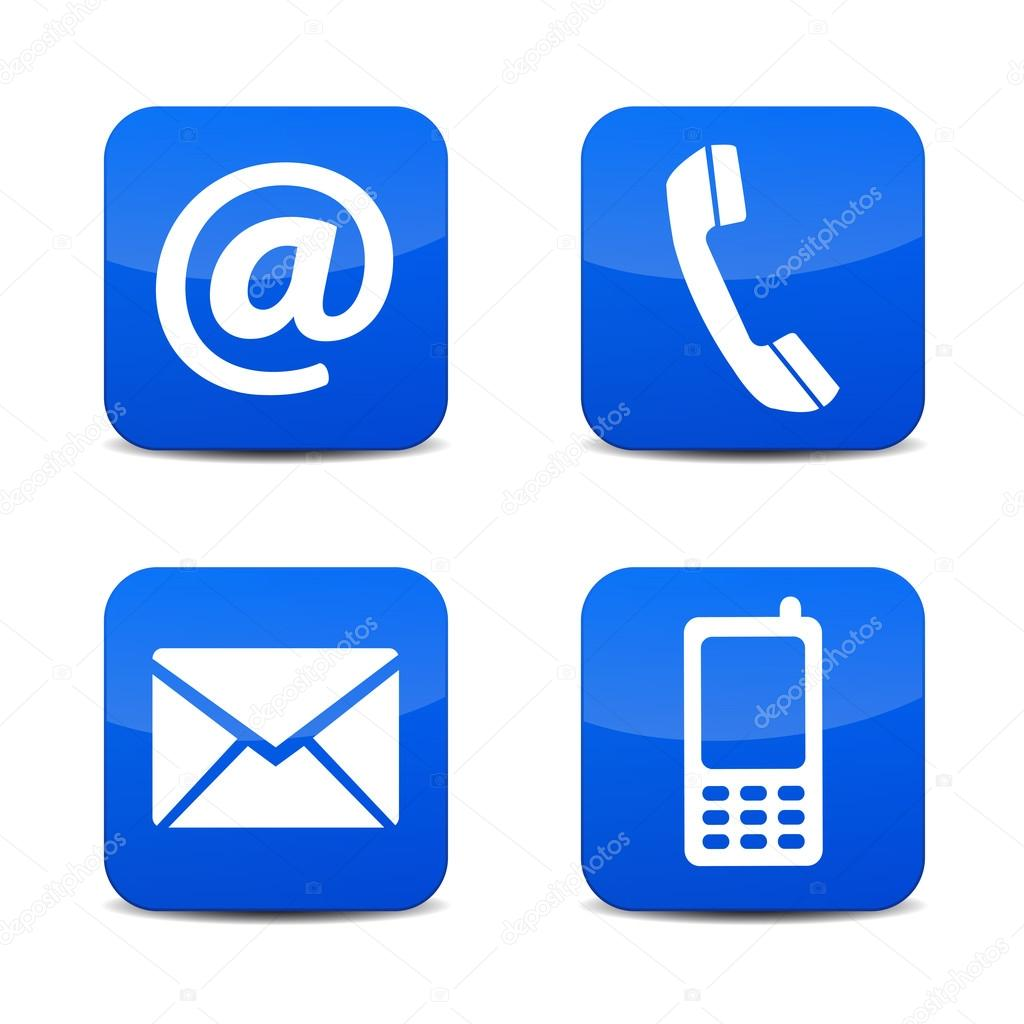 phone email icons vector free wwwimgkidcom the image