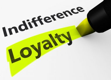 Business Loyalty Marketing Concept