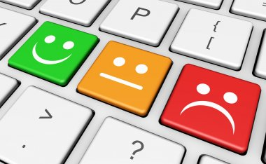 Business Quality Customer Feedback Keyboard
