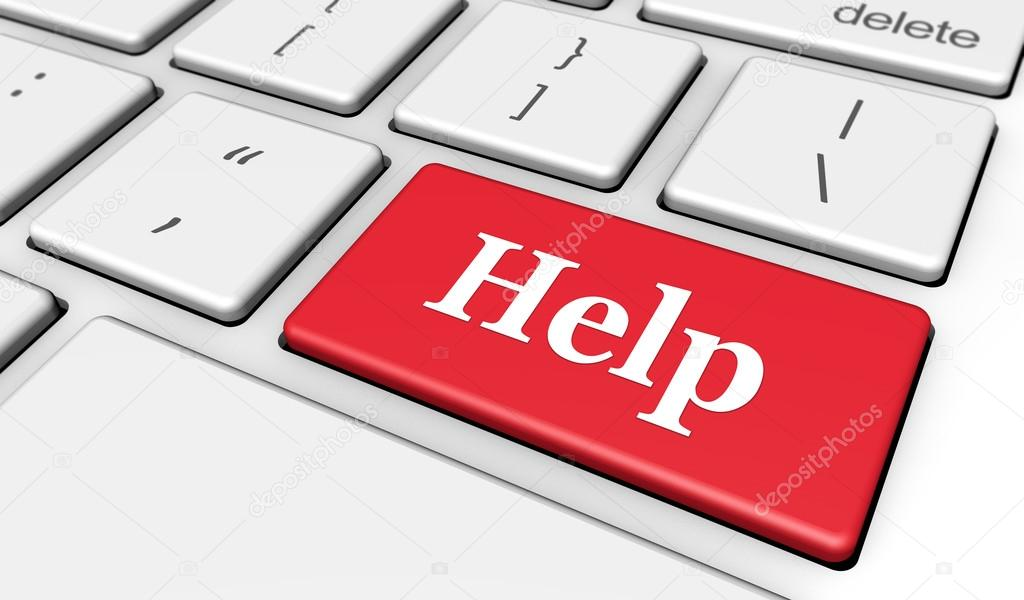 Hilfe Computer