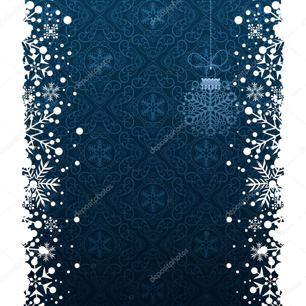 Christmas decoration frame snowflake abstract background for Abstract decoration