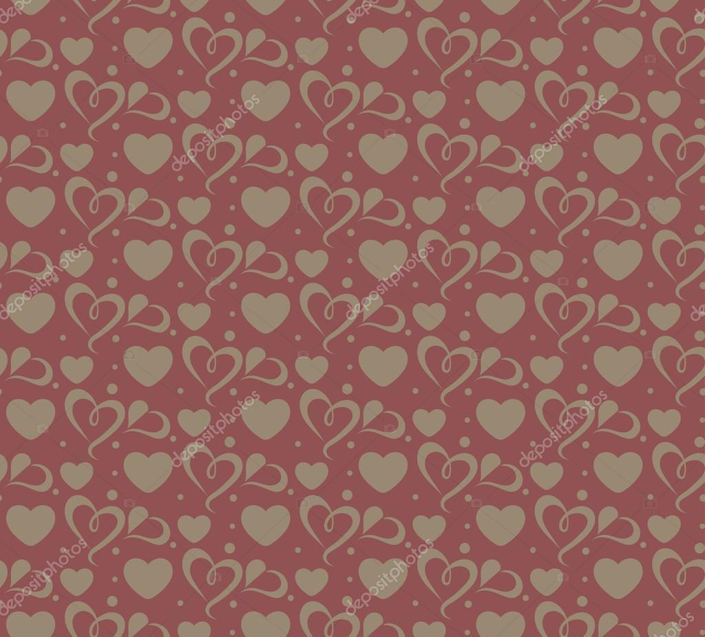 Valentine Background Seamless Wallpaper Vector векторное