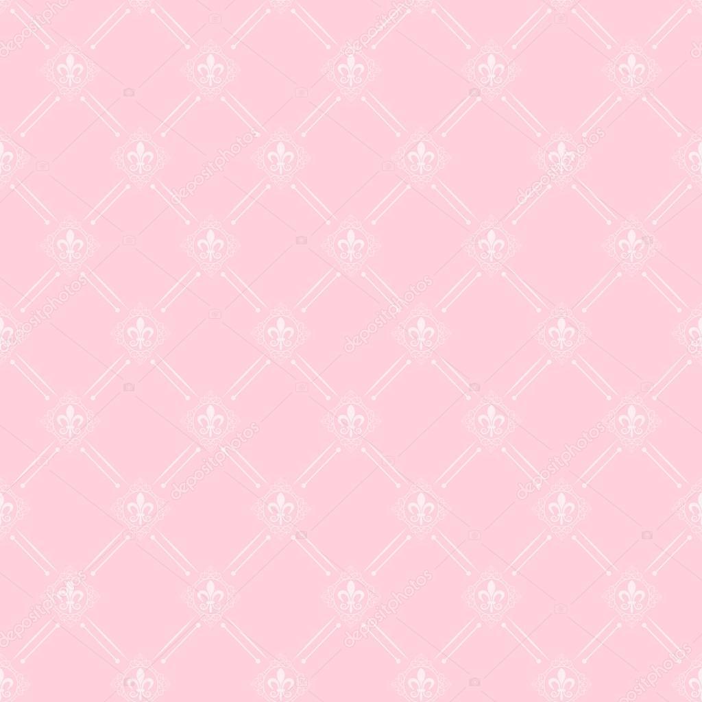Gut bekannt Tapete-Hintergrund. Nahtlose Muster. Rosa. — Stockvektor © kio777 RN57