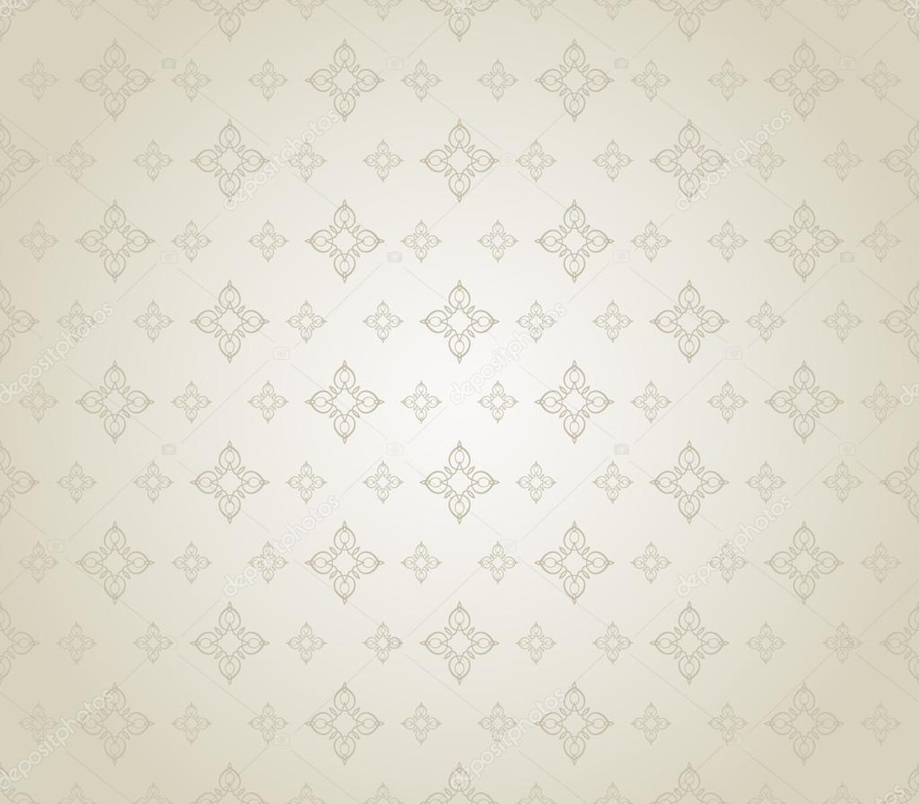 Wallpaper Background Retro Texture Silver Color Stock Vector
