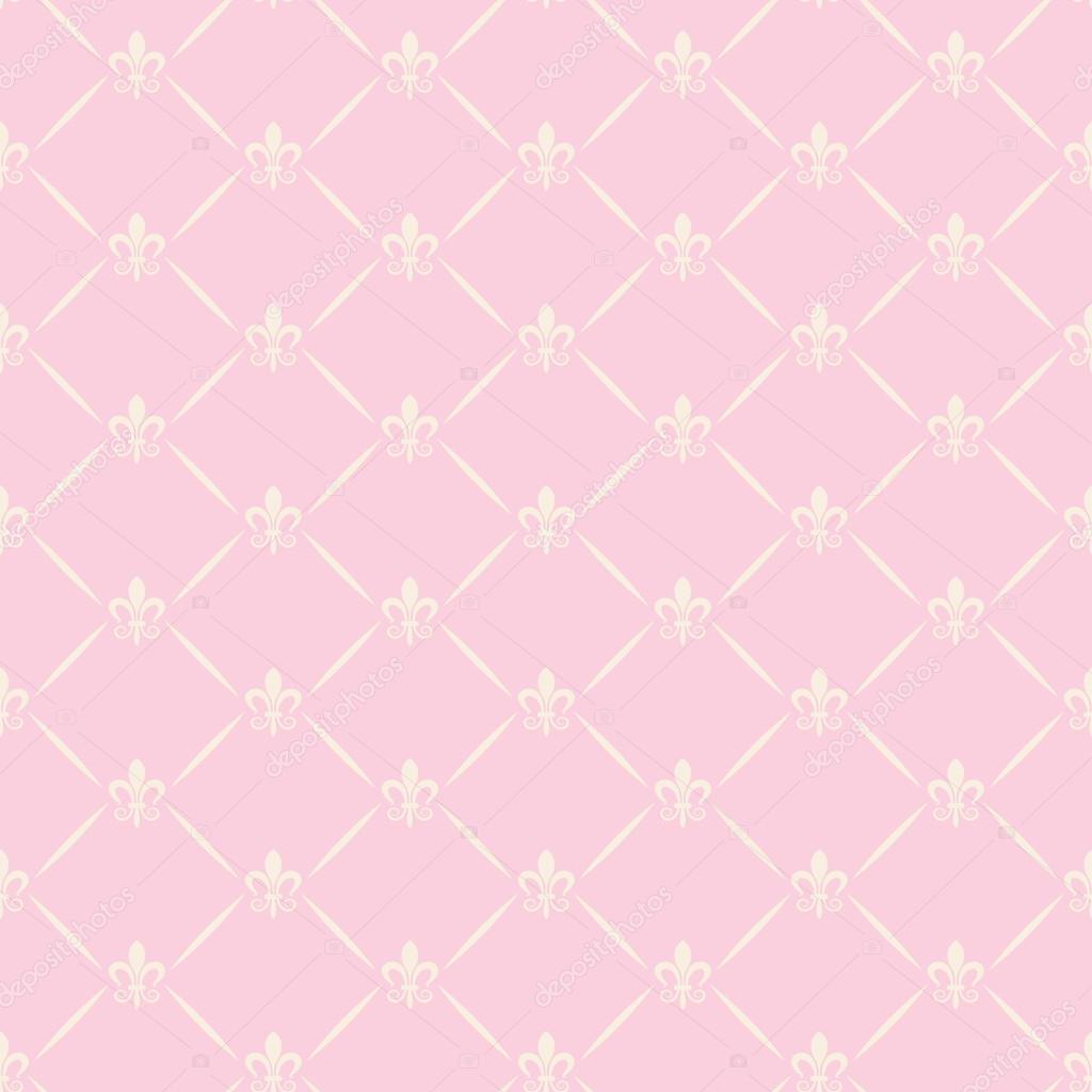 Nahtlose Muster. Wallpaper Für Wand. Rosa U2014 Stockfoto