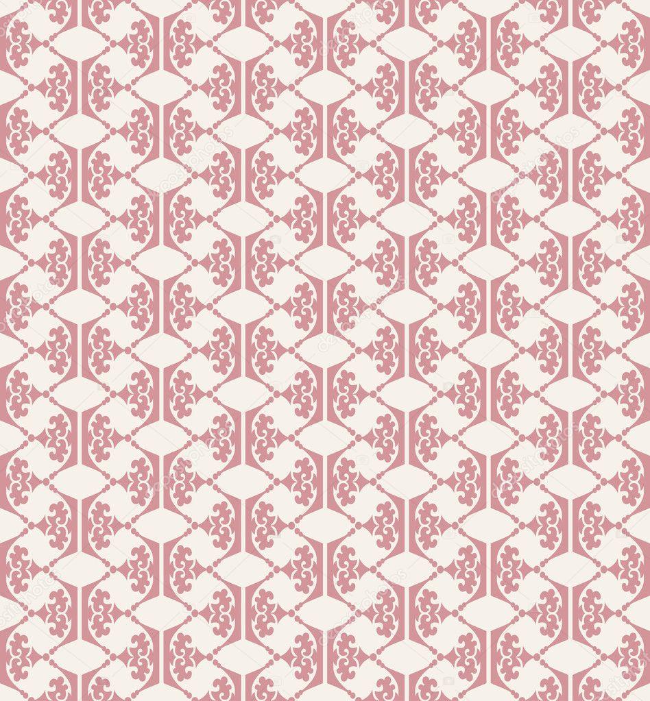 Nahtlose Muster. Wallpaper Für Wand. Retro U2014 Stockfoto