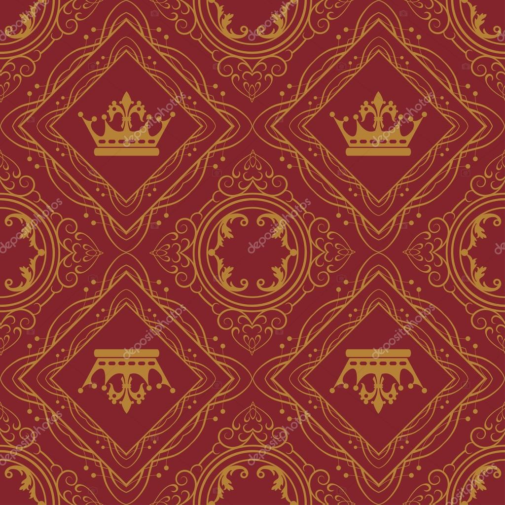 Royal Wallpaper For Your Design Stock Photo