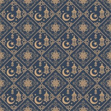 Ramadan seamless pattern
