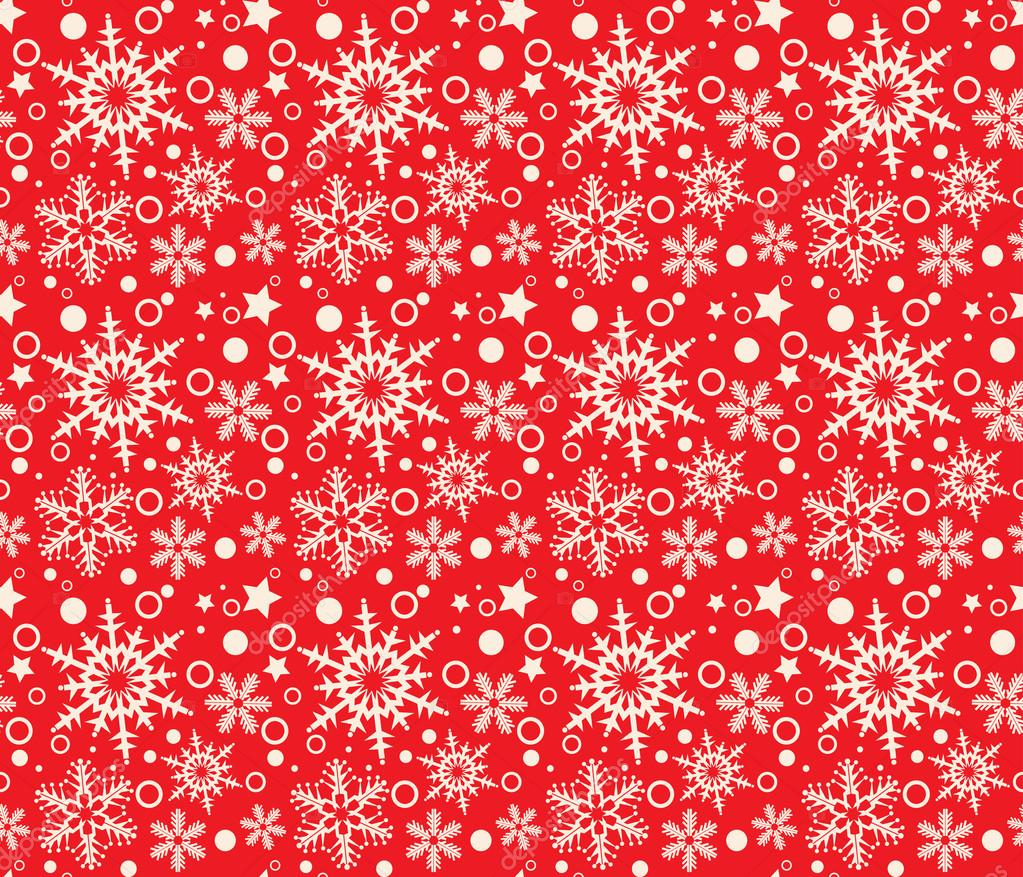 Snowflake Abstract Background Christmas Snowflakes Border Wallpaper Decorations Vector