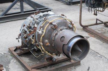 Retired jet engine