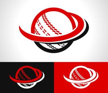 Swoosh Cricket Ball Icon