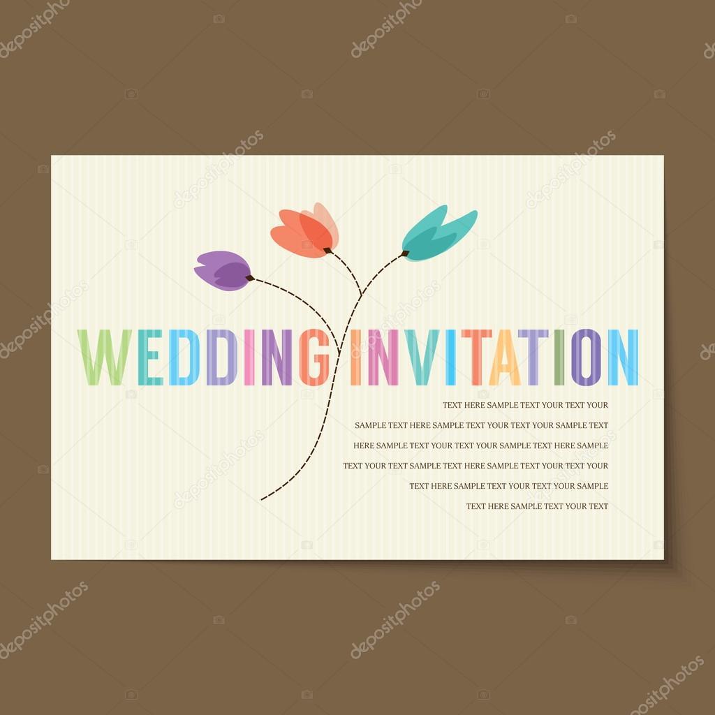 Layout de carto de convite vintage vetor de stock arrtfoto layout de carto de convite vintage vetor de stock stopboris Images
