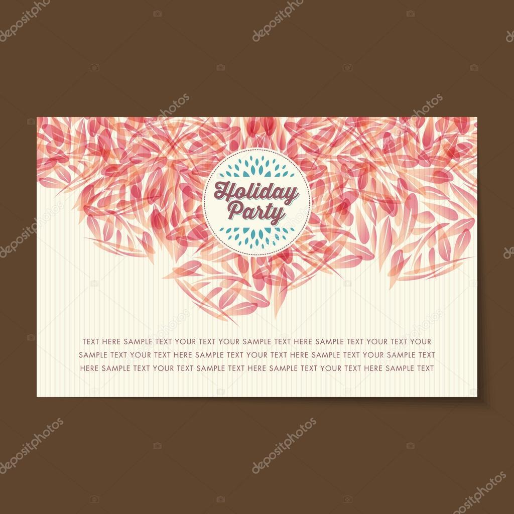 Layout de carto de convite vintage vetores de stock arrtfoto layout de carto de convite vintage vetores de stock stopboris Choice Image