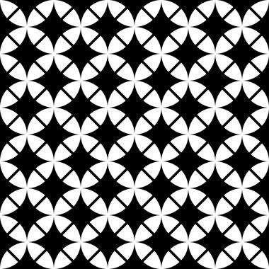vintage geometric wallpaper pattern