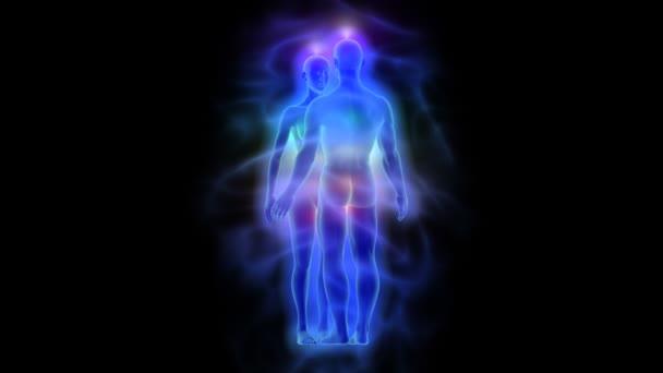 Aura, čakry a léčivé energie - žena a muž