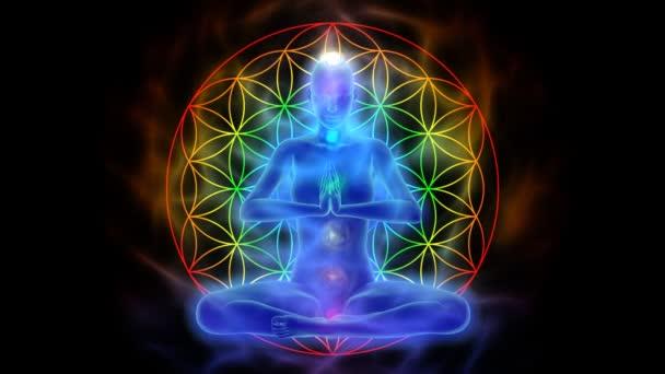 Jóga a meditace, symbol květ života