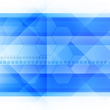 Blue Abstract Background stock vector