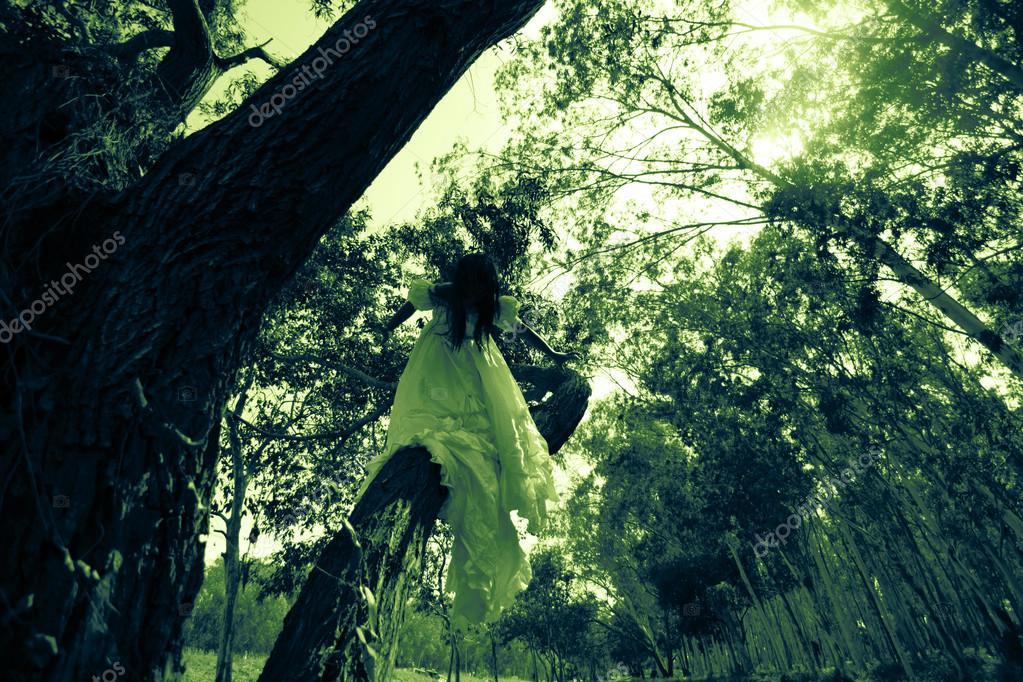 Haunted Forest,Horror Story — Stock Photo © lighthouse #93627294