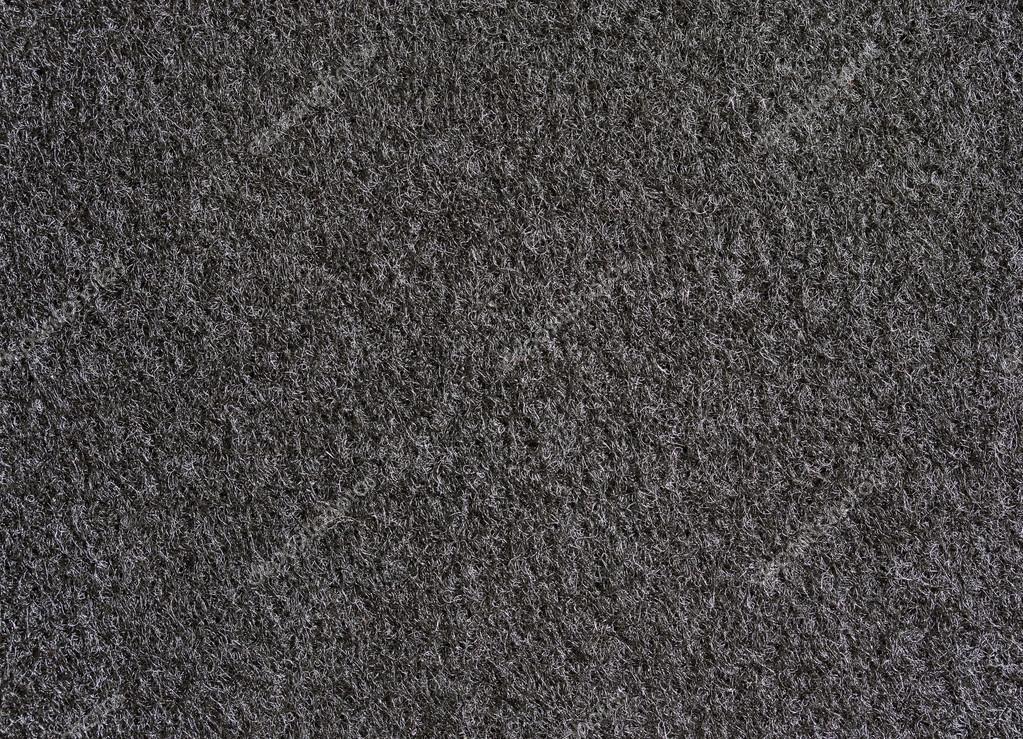 Textura De Alfombra Negra Para El Fondo Foto De Stock