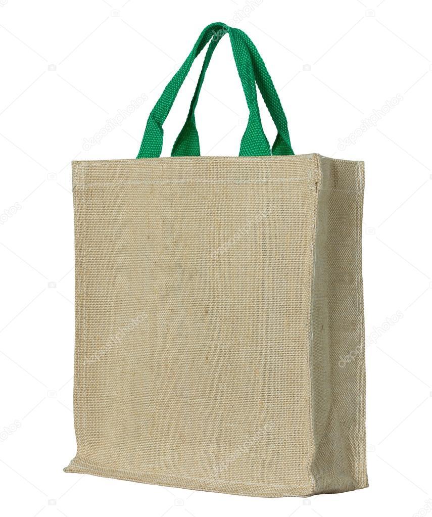 met op uitknippad tas stof wit geïsoleerd Eco wXfxTt