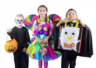Halloween kids Trick or Treaters