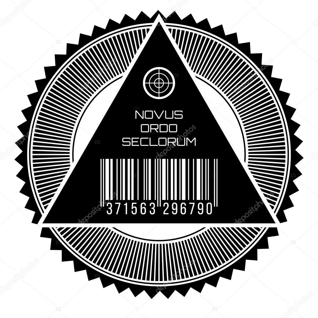 All Seeing Eye New World Order Stock Vector Lkeskinen0 103057884