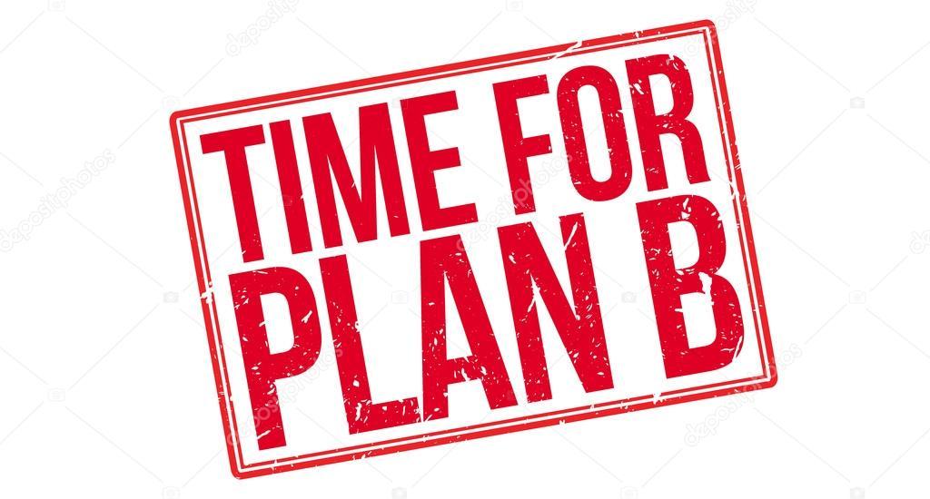 time for plan b rubber stamp ストックベクター lkeskinen0 124326616