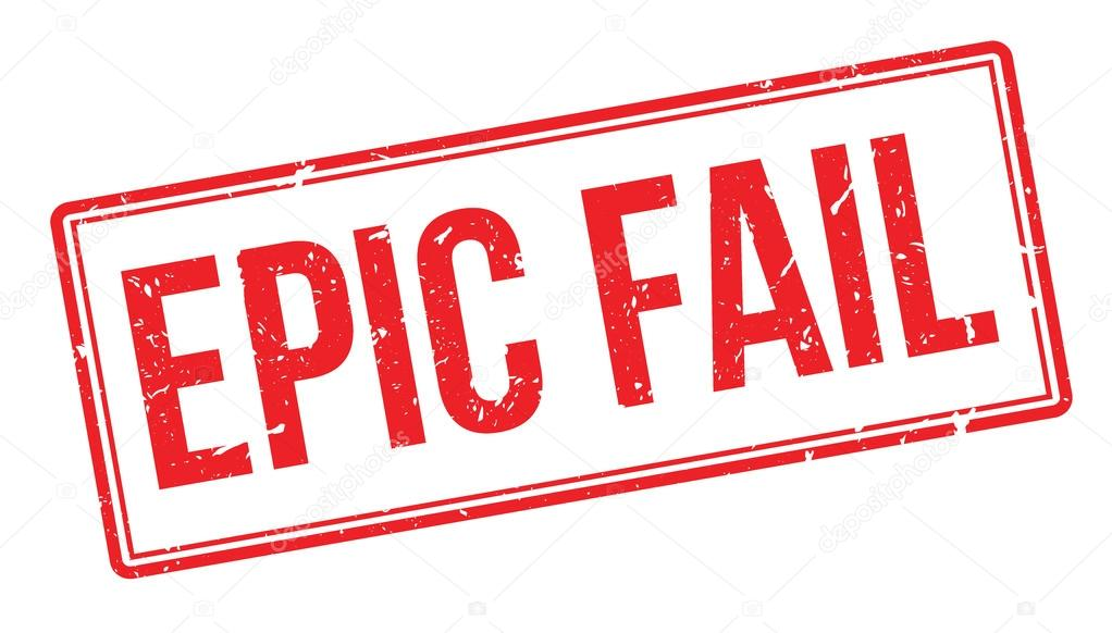 epic fail rubber stamp stock vector lkeskinen0 124327270