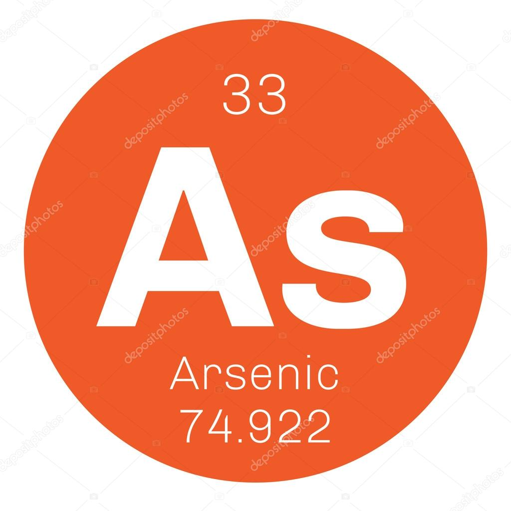 Arsenic chemical element stock vector lkeskinen0 124555080 arsenic chemical element arsenic is a metalloid colored icon with atomic number and atomic weight chemical element of periodic table biocorpaavc Image collections