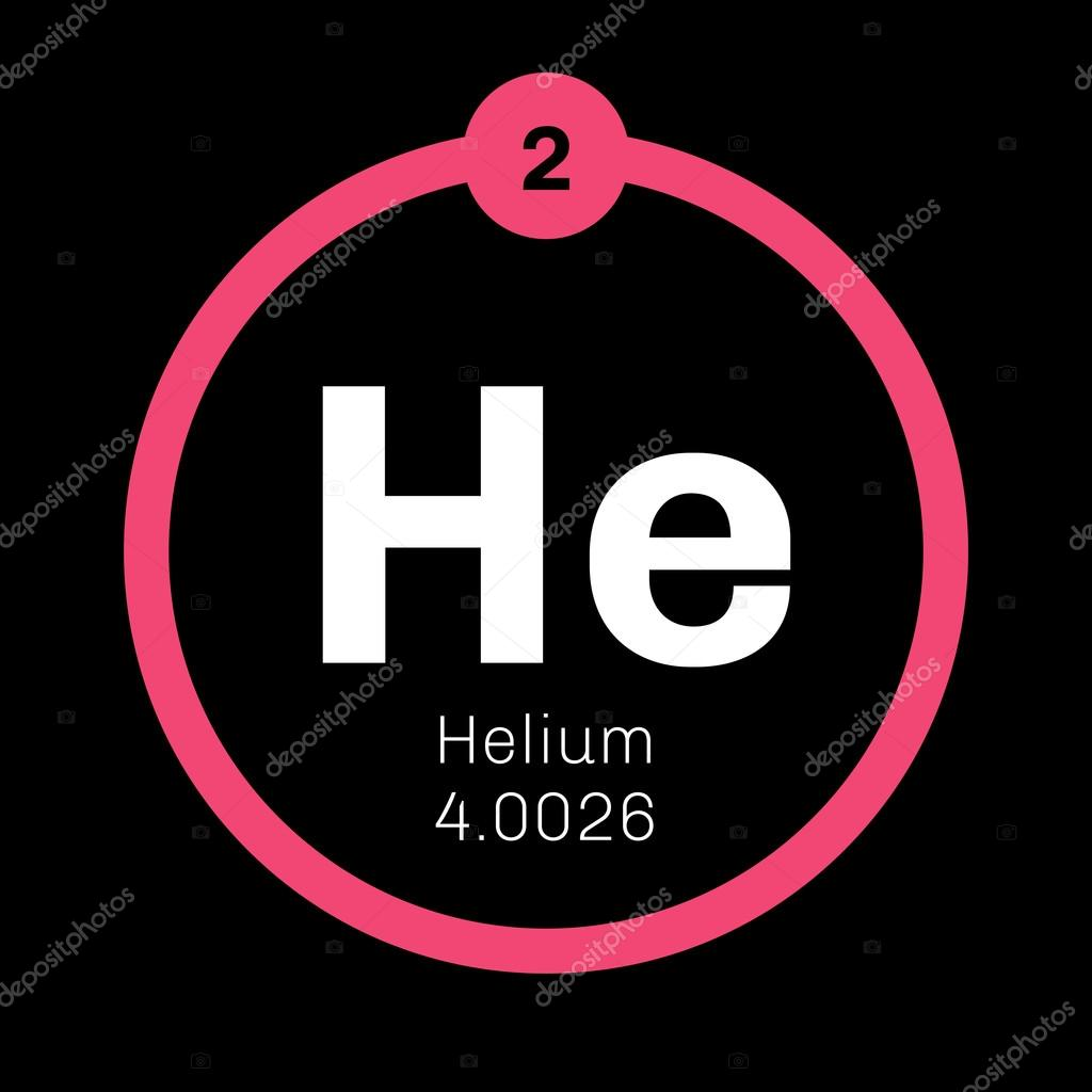 Helium chemical element stock vector lkeskinen0 124555218 helium chemical element stock vector buycottarizona