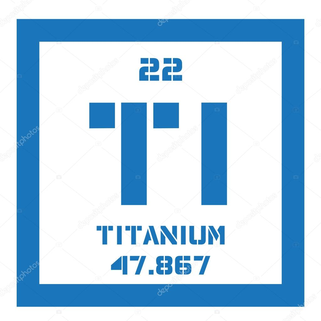 Titanium chemical element stock vector lkeskinen0 124555746 titanium chemical element transition metal of high strength colored icon with atomic number and atomic weight chemical element of periodic table urtaz Images