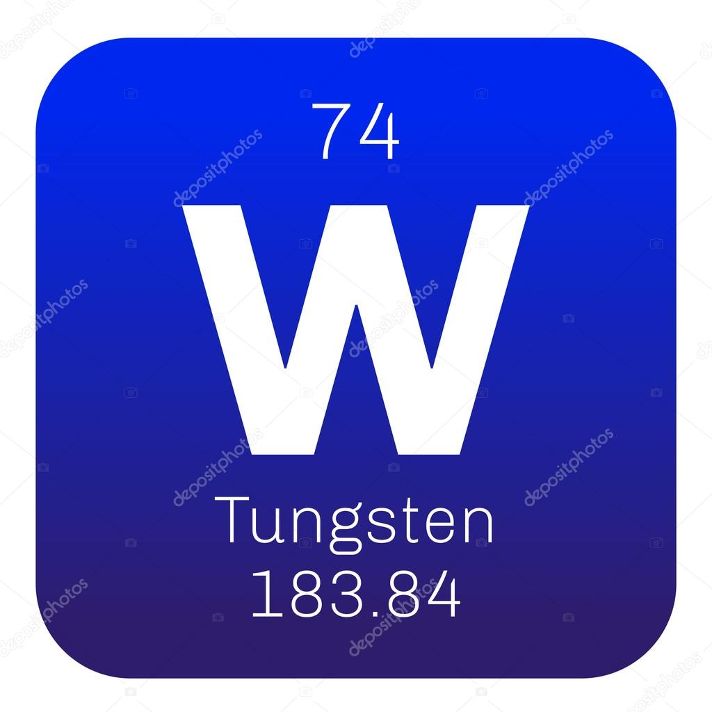 Tungsten chemical element stock vector lkeskinen0 124555820 tungsten chemical element also known as wolfram colored icon with atomic number and atomic weight chemical element of periodic table urtaz Choice Image
