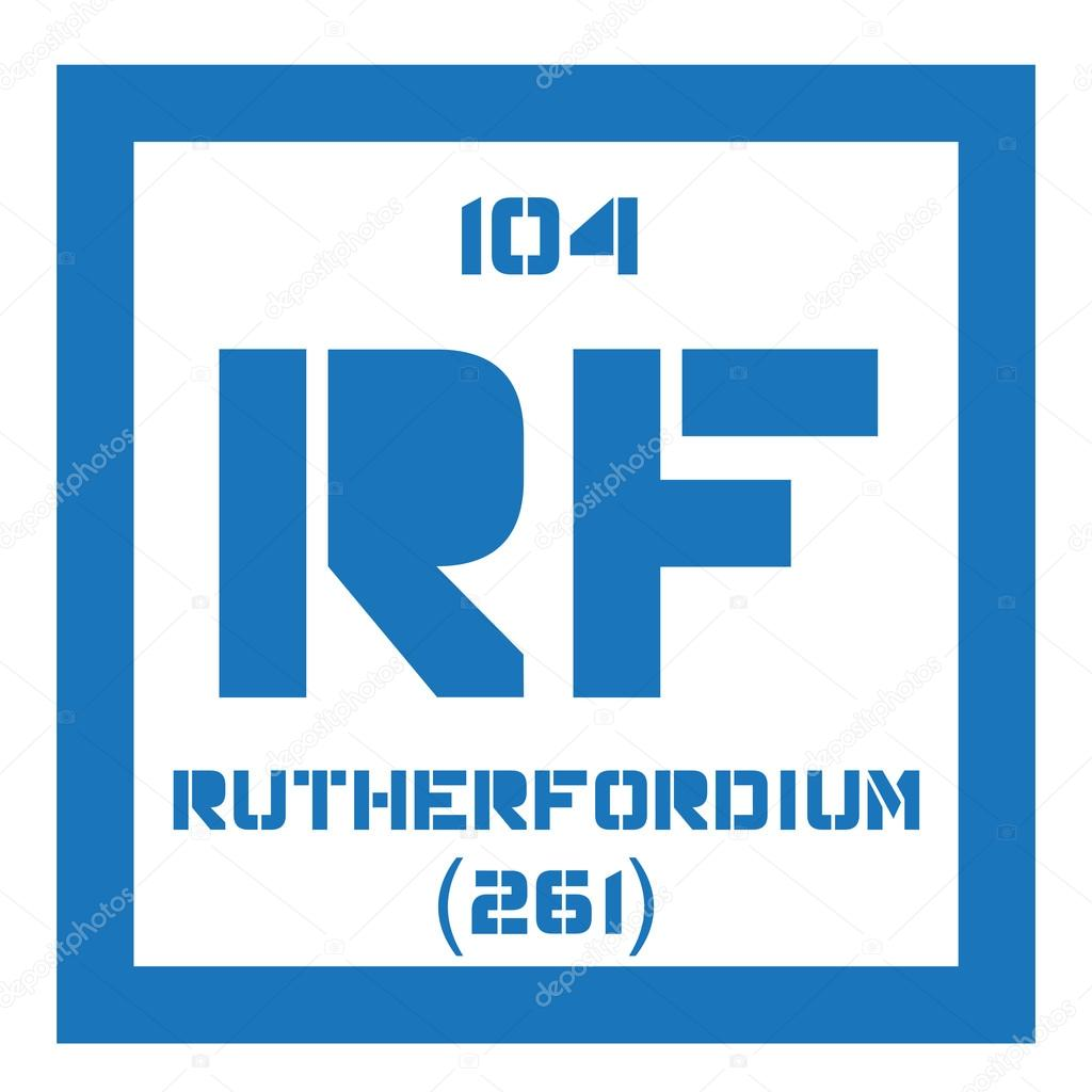 Rutherfordium chemical element stock vector lkeskinen0 124555916 rutherfordium chemical element radioactive synthetic element colored icon with atomic number and atomic weight chemical element of periodic table gamestrikefo Gallery