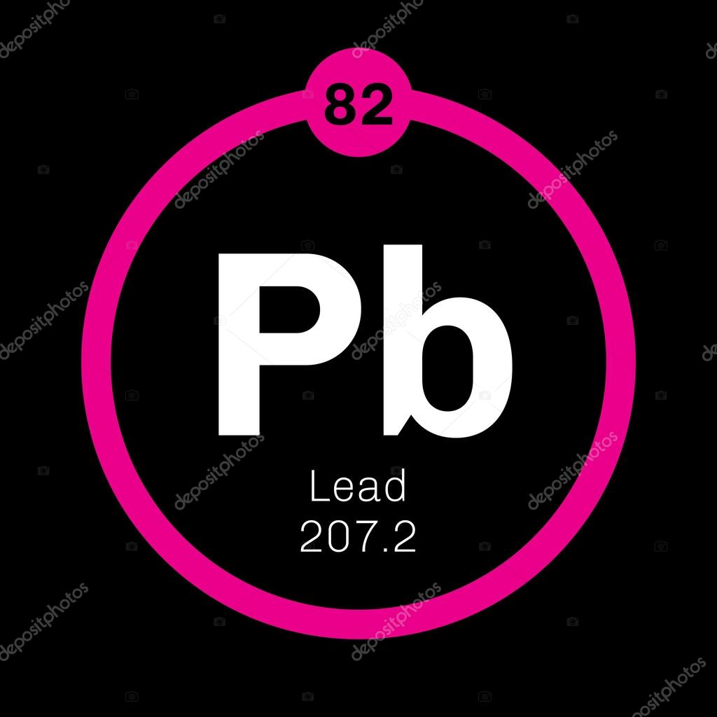 Lead Chemical Element Stock Vector Lkeskinen0 124556106