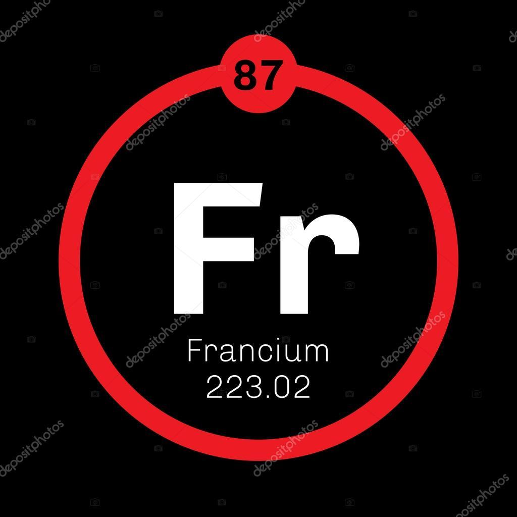 Elemento qumico del francio archivo imgenes vectoriales elemento qumico del francio archivo imgenes vectoriales urtaz Choice Image