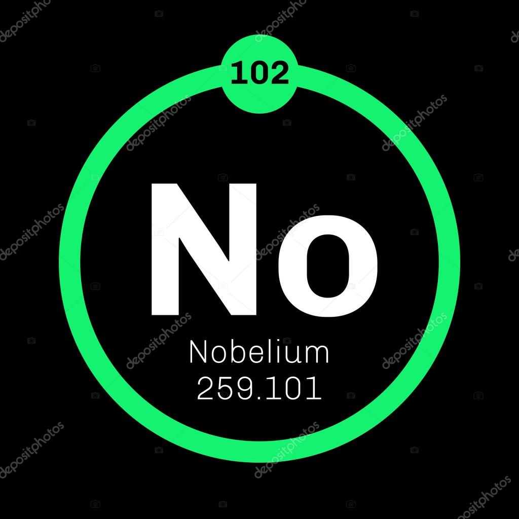 Nobelium chemical element stock vector lkeskinen0 124556482 nobelium chemical element nobelium is a radioactive metal colored icon with atomic number and atomic weight chemical element of periodic table buycottarizona