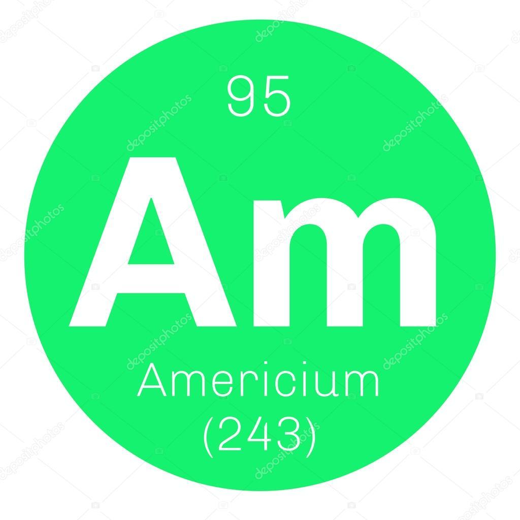 アメリシウムの元素記号 — スト...