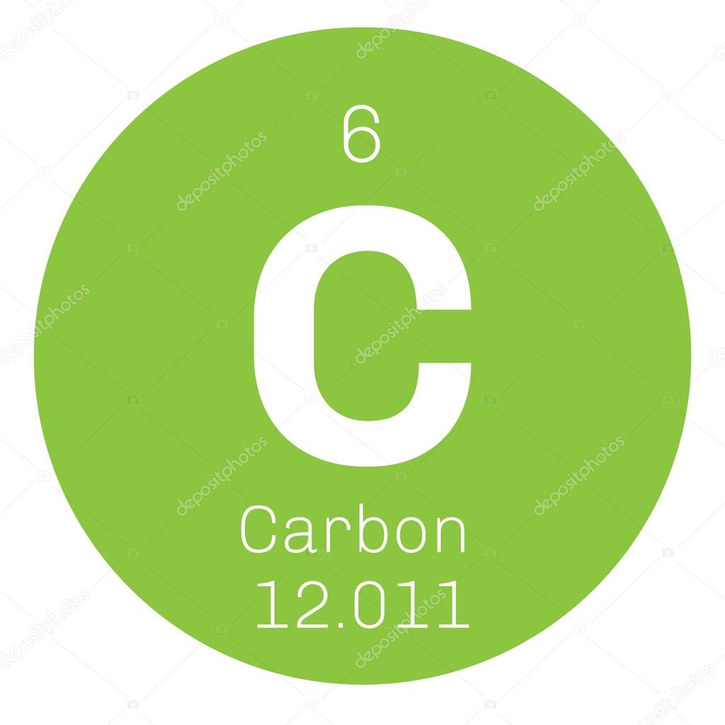 Carbon chemical element stock vector lkeskinen0 124556658 carbon chemical element graphite and diamond colored icon with atomic number and atomic weight chemical element of periodic table vector by lkeskinen0 urtaz Image collections