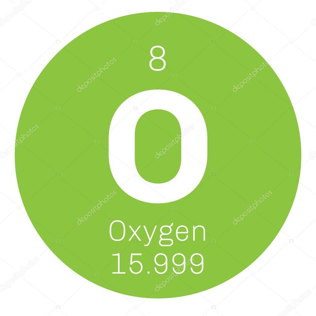 Oxygen chemical element stock vector lkeskinen0 124556684 oxygen chemical element stock vector buycottarizona Choice Image