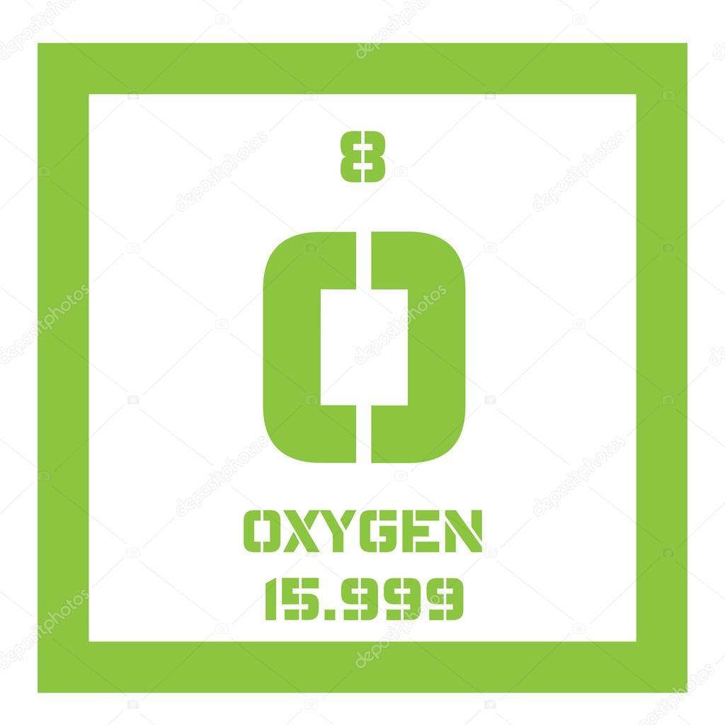 Oxygen chemical element stock vector lkeskinen0 124556696 oxygen chemical element stock vector buycottarizona Choice Image
