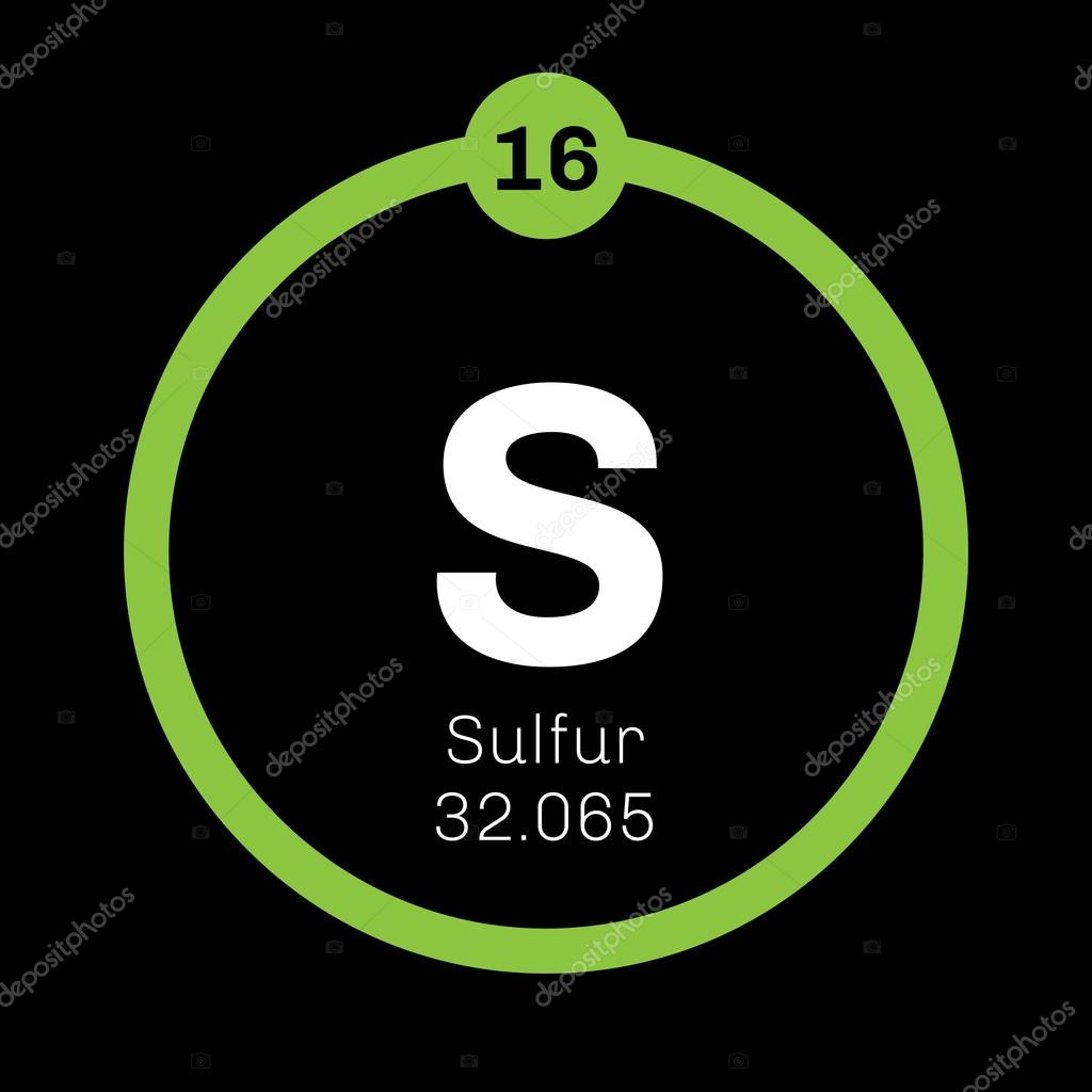 Sulfur chemical element stock vector lkeskinen0 124556726 sulfur chemical element stock vector buycottarizona Image collections