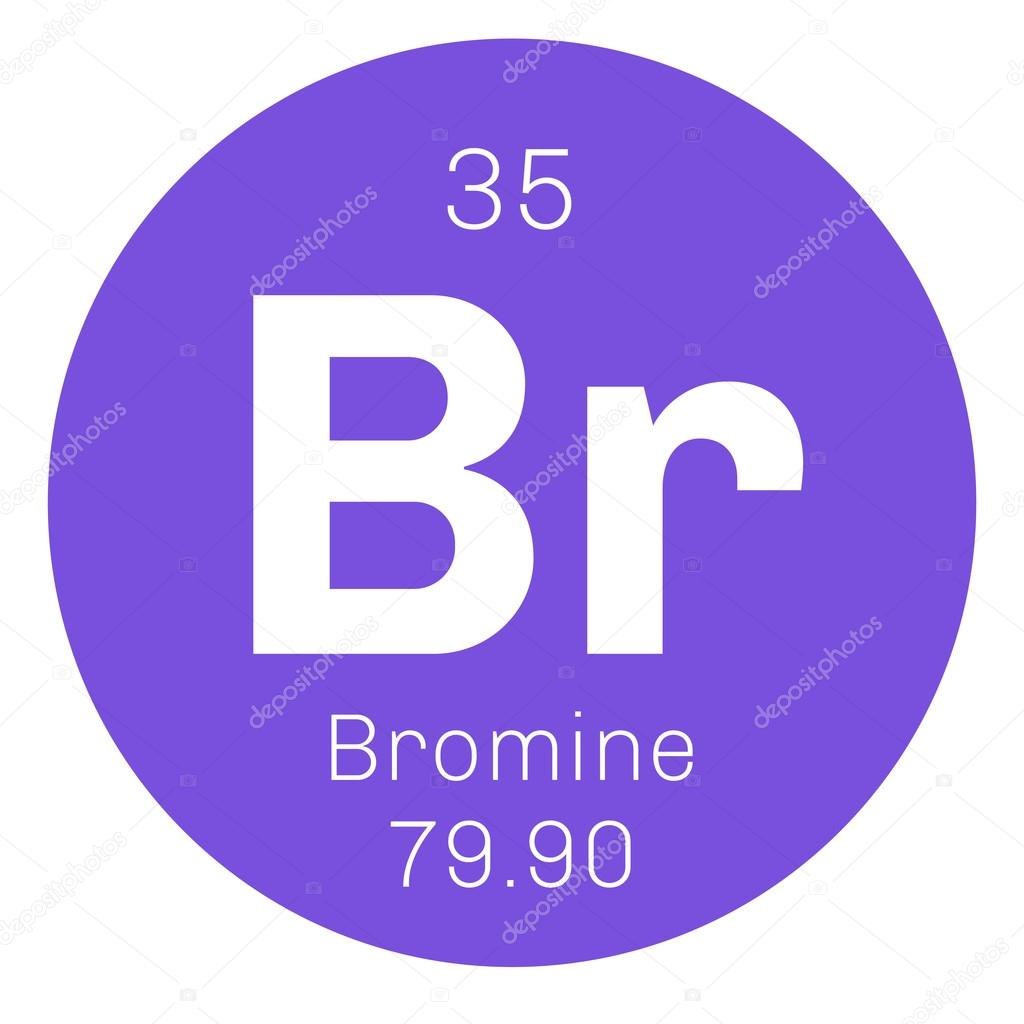 Bromine chemical element stock vector lkeskinen0 124556756 bromine chemical element stock vector biocorpaavc