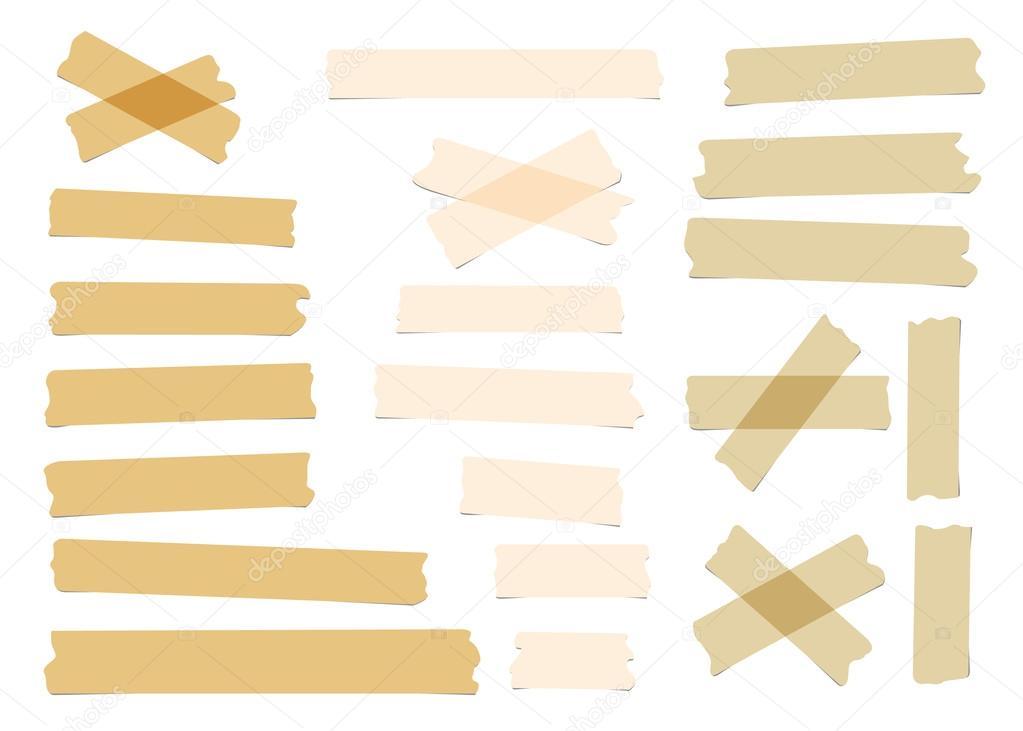 Pedaços De Tamanho Diferente, Cor, Adesivo, Adesiva De