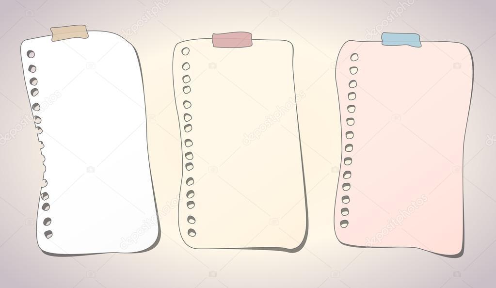 Imágenes: hojas de cuaderno animadas | Cuaderno de dibujos animados ...