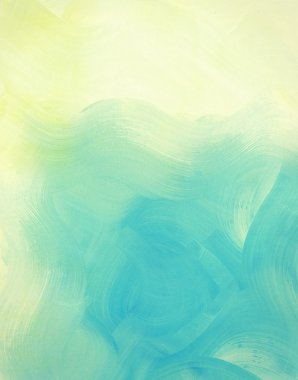 Light blue painted watercolor background